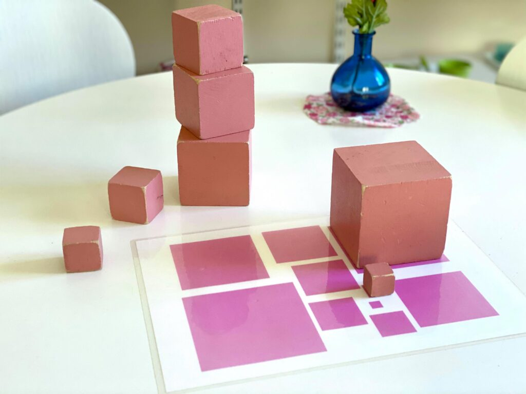 Rosa tornet Montessori