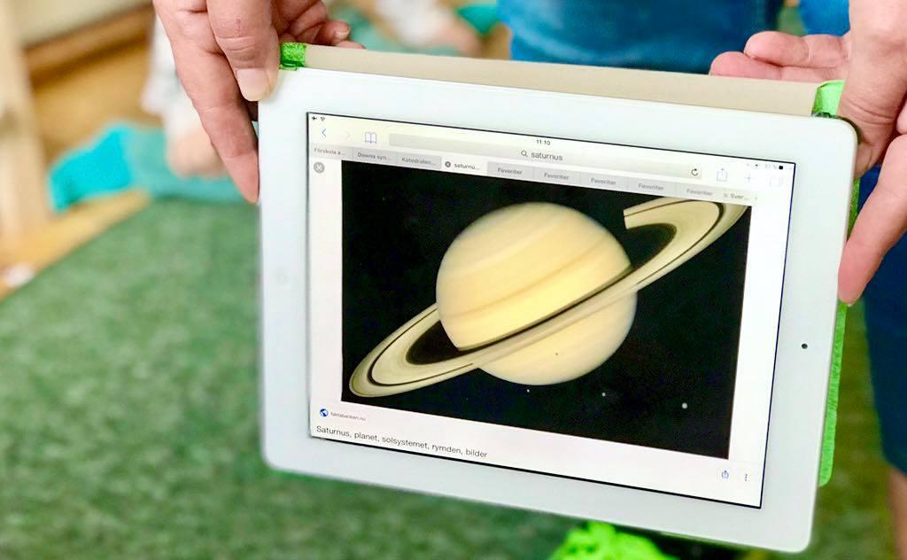 Digitalisering förskolan